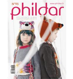 Phildar patroonboek nr 95 ( herfstwinter 2013/14)