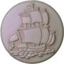 Babouche Baboos Sail-away parelmoer drukker