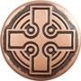 Babouche Baboos Celtic Cross drukker
