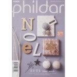 Phildar pocket nr 604, 20 patronen voor het zelf maken van kerstdecoraties