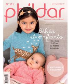 Phildar patroonboek nr 111 ( herfst winter 2014/15)