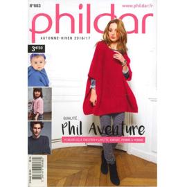 Phildar Pocket nr 663 herfst winter 2016/17