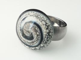 Black&Silver swirl