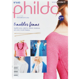 Phildar pocket nr 640 lente zomer 2016