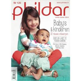 Phildar patroonboek nr 120 ( lente zomer 2015)