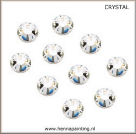 10x  Zilver (Crystal) -  SS16