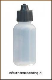 Luer Lock Bottle 40ml (leeg) incl. Dop