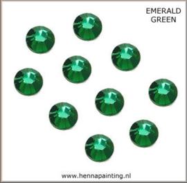 10 x Donker Groen (Emerald Green) - SS16