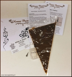 Henna Pasta Basic I (Knijpflesje)