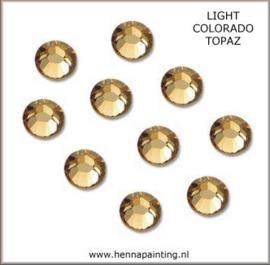 10x Goud (Light Topaz) - SS16