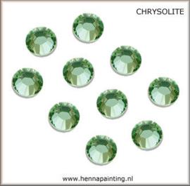 10 x Licht Groen (Chrysolite) - SS16