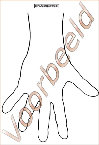 Oefen Lamineer Hand Links