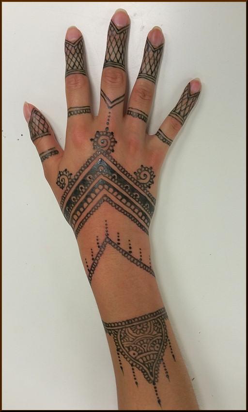 Jagua Painting / Tattoo