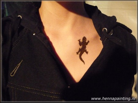 Henna salamander