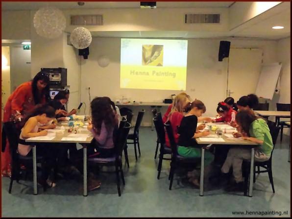 Workshop Henna Kinderen
