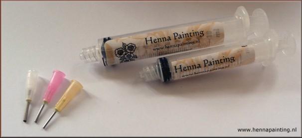 S-Size Henna Spuiten
