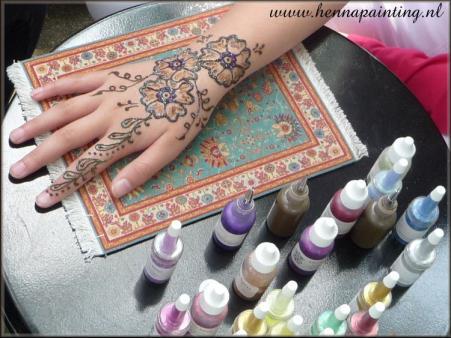 Henna Painting Kinderfeesten