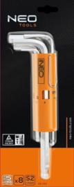 NEO inbusset 2,0-10mm din 911