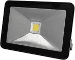 Perel LED bouwlamp zwart  // 20W - 1600lm - 4000K