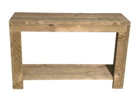 Doe-Het-Zelf bouwpakket badkamermeubel van oud of nieuw steigerhout