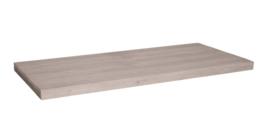 Tafelblad steigerhout Lucca kleur zand 200x100cm (voorraad magazijn artikel)