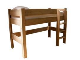 Doe-Het-Zelf bouwpakket halfhoogslaper van oud of nieuw steigerhout