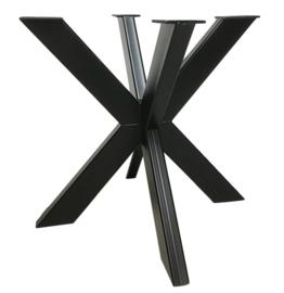Stalen tafel onderstel model Matrix koker 10x5cm