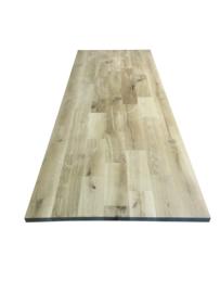 Eiken tafelblad wildverband verlijmd 40mm dik