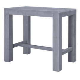 Statafel blokpoot 120x80cm steigerhout beton grijs