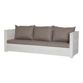 Loungebank Varia 3- zits kleur beton grijs