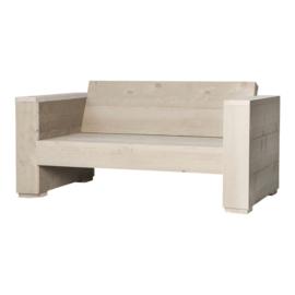 Doe-Het-Zelf bouwpakket loungebank steigerhout massief 2- zits kleur zand