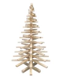 Doe-Het-Zelf Houten Kerstboom 3D