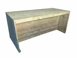 Bar tafel/ keukeneiland van oud steigerhout