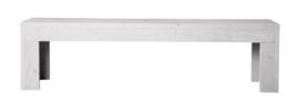 Openbank steigerhout kleur schelp wit