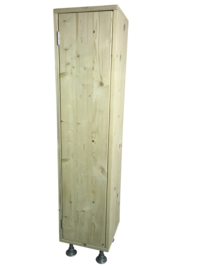 Badkamerkast van nieuw steigerhout