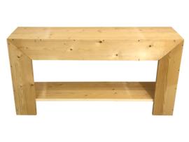 Badkamer meubel recht van nieuw steigerhout (BD)