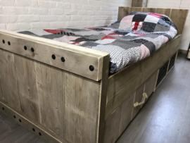 Bed steigerhout Robuust Boris