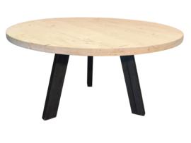 Assortiment Ronde steigerhout tafels