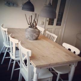 Tafel Maison Karlijn oud steigerhout