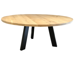 Assortiment Ronde eiken tafels