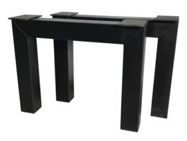 Stalen tafel onderstel model N koker 12x12cm