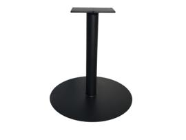 """Stalen tafel onderstel model """"Rond"""" koker 9cm"""