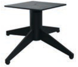 Herkules salontafel onderstel zwart (mini)