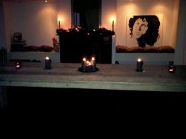 Esther Heer - tafel van oud steigerhout