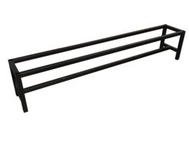 Stalen onderstel bank buisframe koker 4x4cm