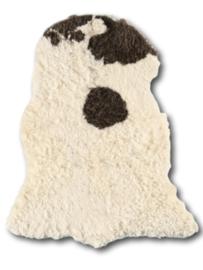 Curly Sheepskin Longhair Brownheads
