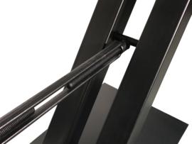 Stalen tafel onderstel model V met spanner