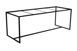 Stalen tafel onderstel Karel L240cmxB100cmxH71cm  (voorraad magazijn artikel)