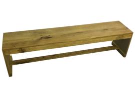 Bank gemaakt van rustiek eikenhout model karwei