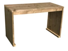 Doe-Het-Zelf bouwpakket bureautafel van oud of nieuw steigerhout